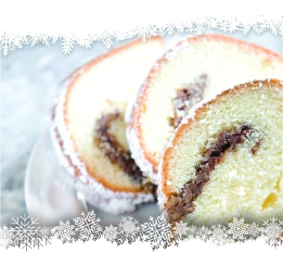 Don't make a mistake and give that fruitcake you're eye-balling.  Sahm's Coffee Cake is available for pickup from select locations!